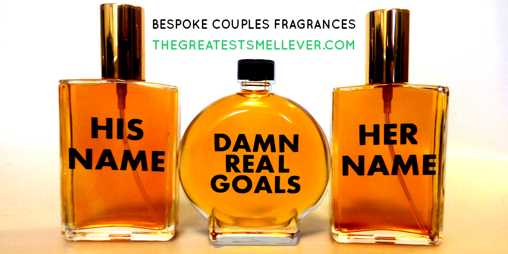 Make a custom couples perfume